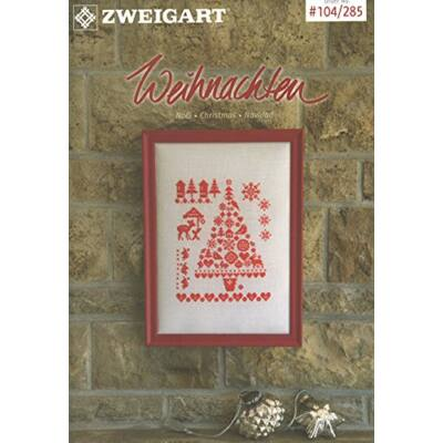 Zweigart 104/285 - Karácsonyi keresztszemes mintafüzet